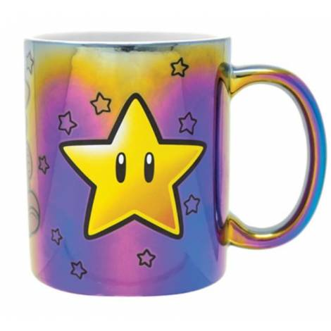 Pyramid Super Mario (Star Power) Iridescent 11Oz Mug (FMG25308)