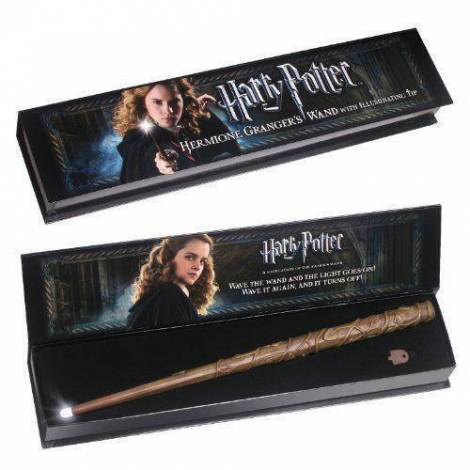 Ραβδί με φωτισμό Hermione Granger (Harry Potter) – Noble Collection (NN8028)