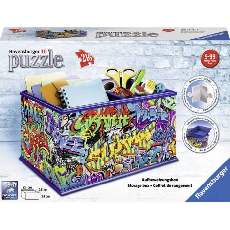 Ravensburger - 3D Puzzle 216 pcs Graffiti Vanity Box (12111)