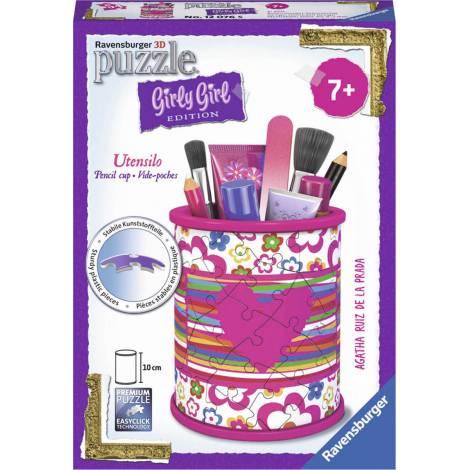 Ravensburger - 3D Puzzle 54 pcs Pencil Cup Agatha Prada - Girly Girl Edition (80181)