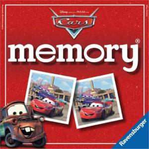 RAVENSBURGER CARD GAME MEMORY DISNEY CARS 2 (22139)