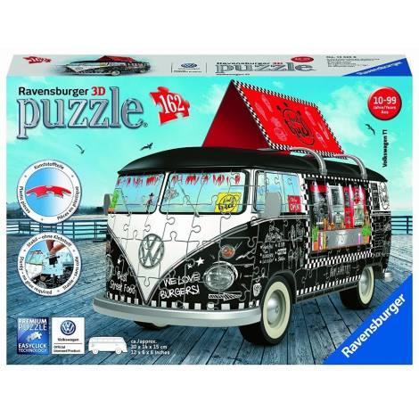 Ravensburger Πάζλ 3D 162τεμ. VW Bus Καντίνα (12525)
