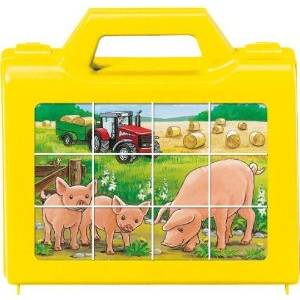 RAVENSBURGER PUZZLE CUBES - ANIMALS OF THE FARM (12pcs.) (07471)