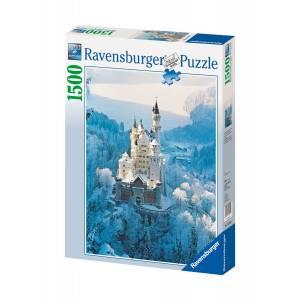 RAVENSBURGER PUZZLE - NEUSCHWANSTEIN CASTLE IN WINTER (1500pcs) (16219)