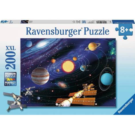 RAVENSBURGER PUZZLE - THE SOLAR SYSTEM XXL (200pcs) (12796)