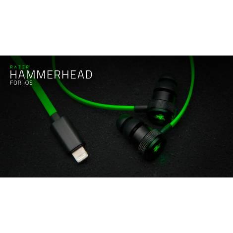Razer Hammerhead For iOS (Green/Black)