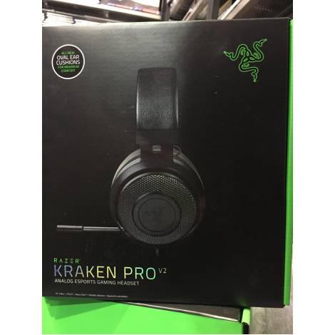 Razer Kraken Pro V2 Oval - Black Analog Headset (PC,PS4,XBOX ONE, SWITCH)