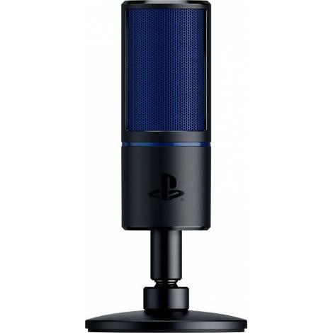 Razer SEIREN X PS4 Edition - Condenser - Shock Resistance  - USB Microphone