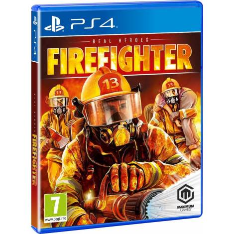 Real Heroes: Firefighter (PS4)