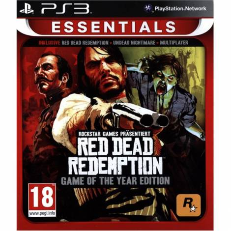 Red Dead Redemption - Game of The Year Edition - Essentials (PS3)