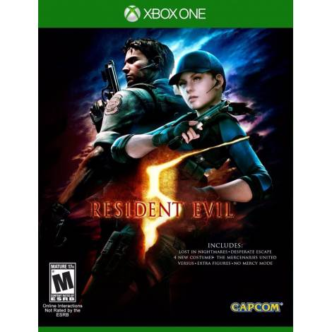 Resident Evil 5 HD (XBOX ONE)