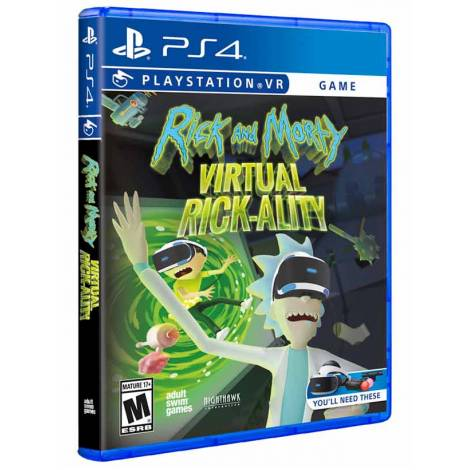 RICKY AND MORTY VR (PS4)