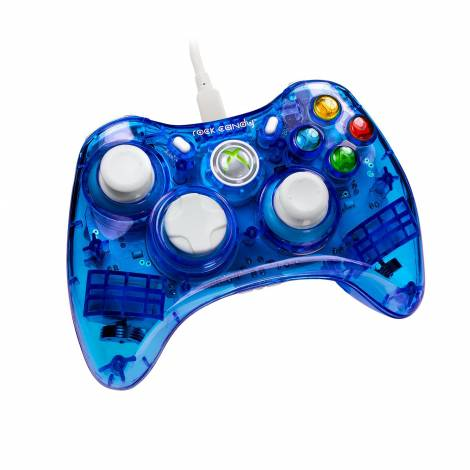 Rock Candy Wired Controller - Blueberry Boom (Xbox 360)