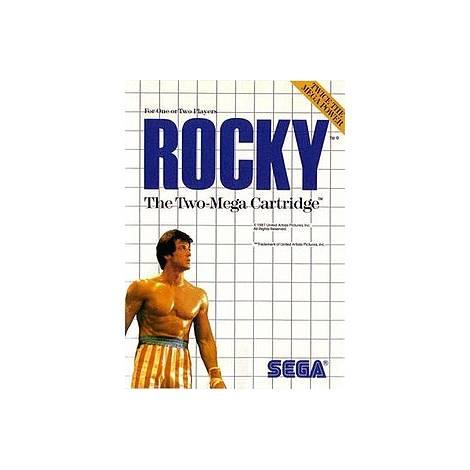 Rocky - χωρίς κουτάκι (SEGA MASTER SYSTEM)