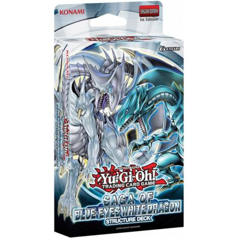 YuGiOh ! Saga Of The Blue Eyes White Dragon Structure Deck