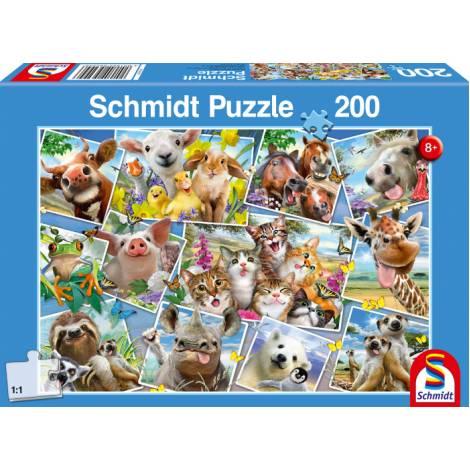 Schmidt  56294 Standard - Selfie ζωάκια Puzzle (200 pcs)