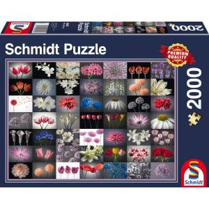 Schmidt 58297 Standard - Λουλούδια Puzzle (2000 pcs)