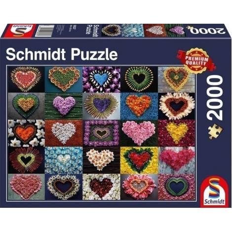 Schmidt Καρδιές 2000pcs (58327)