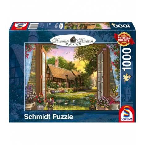 Schmidt Puzzle Davinson - Θέα της αγροικίας (1000pcs) (59591)