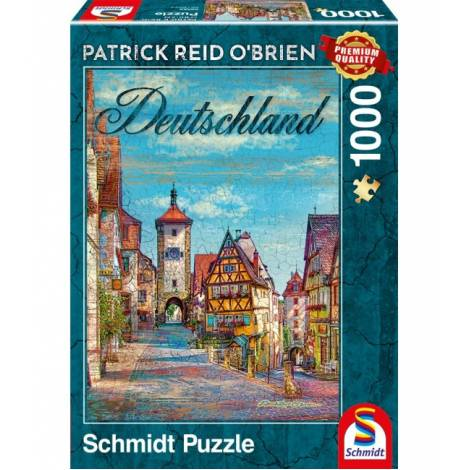 Schmidt Puzzle Obrien - Γερμανια (1000pcs) (59582)