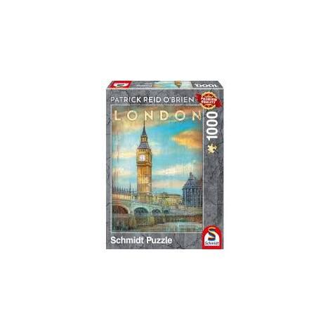 Schmidt Puzzle Obrien - Λονδίνο (1000pcs) (59585)