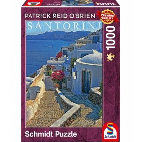 Schmidt Puzzle Obrien - Σαντορίνη (1000pcs) (59584)