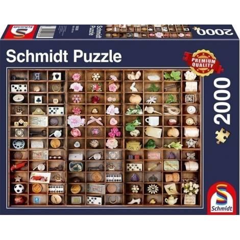 Schmidt Θησαυροί μινιατούρες 2000pcs (58326)