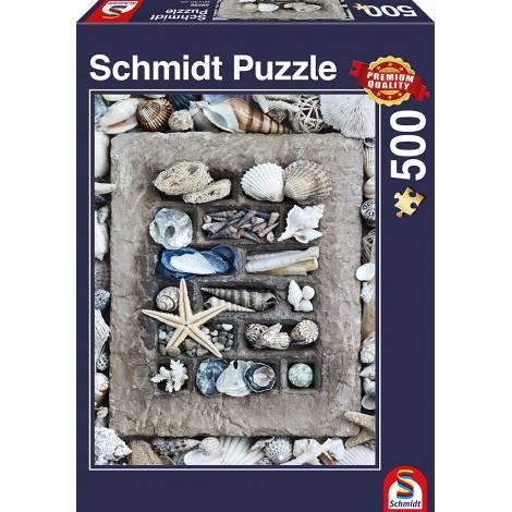Schmidt Θησαυροί της Θάλασσας Puzzle 58298  (500-Piece)