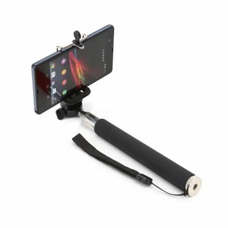 Selfie stick ΟΜΕGA μαύρο