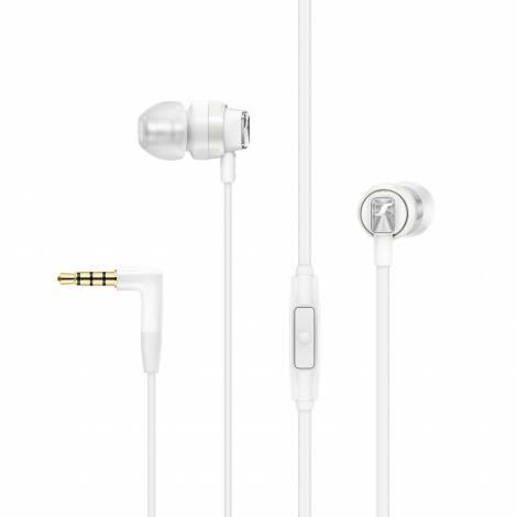 SENNHEISER CX-300S-White Ακουστικά με Μικρόφωνο