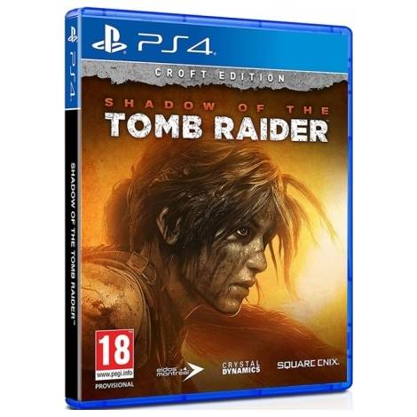 Shadow of the Tomb Raider (Croft Edition) (PS4)