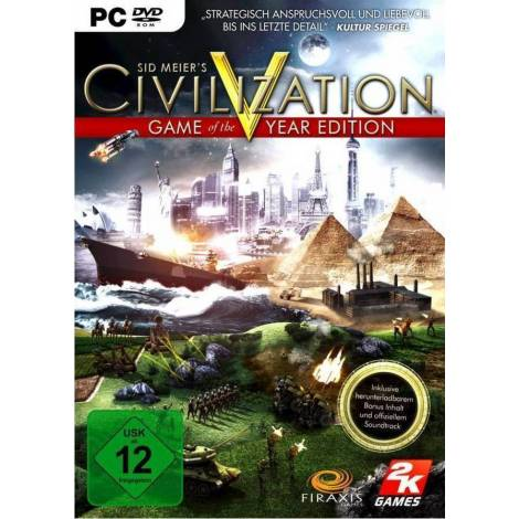 Sid Meier's Civilization V: Game of the Year Edition (PC)