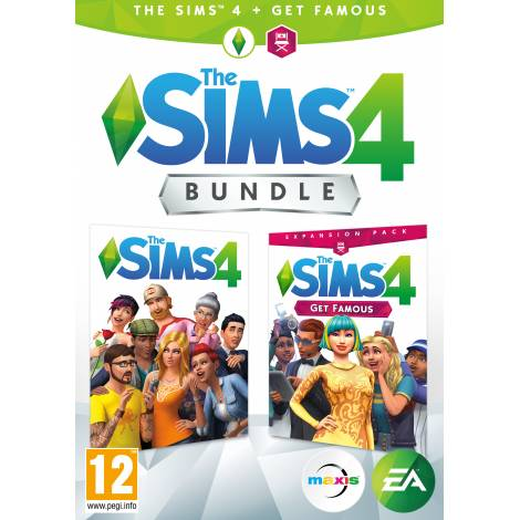 SIMS 4 PLUS Episode 6 Get Famous Bundle (PC)