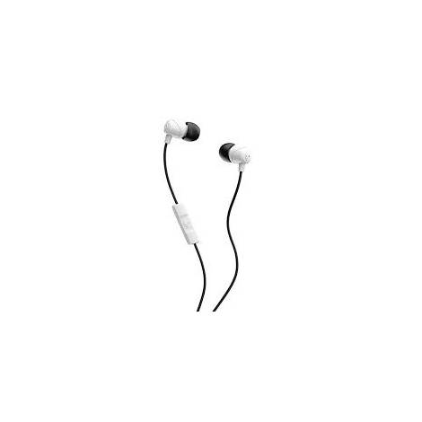 Skullcandy Jib With Microphone - White & Black