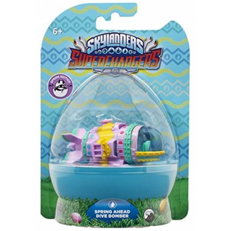SKYLANDERS SUPERCHARGERS DIVE BOMBER SPRING EDITION