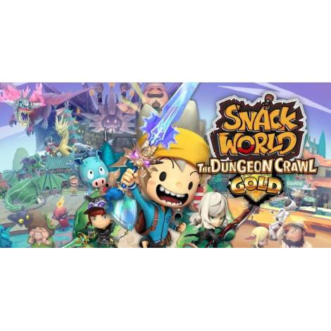 SNACK WORLD: THE DUNGEON CRAWL – GOLD (Nintendo Switch)