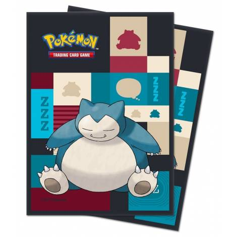 POKEMON SNORLAX DECK PROTECTOR 65-CT SLEEVES