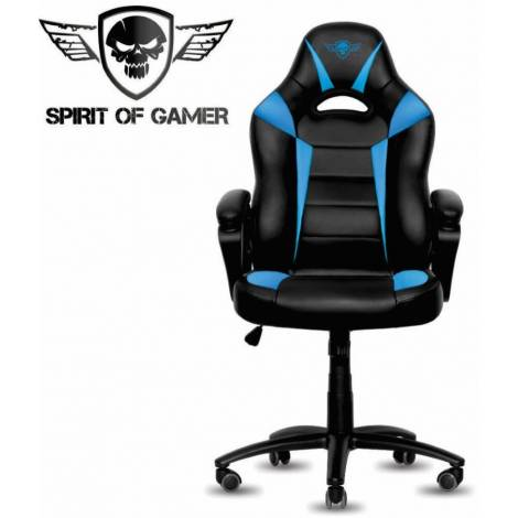 SoG Gaming Chair Fighter Series Blue/Black (SOG-GCFBL)