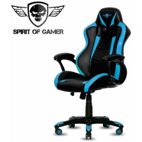 SoG Gaming Chair Racing Series Black (SOG-GCRBL)
