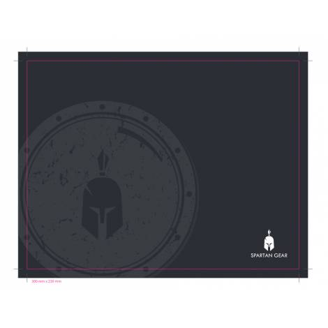 Spartan Gear Hoplite Medium Mousepad (300mm x 230mm) (PC)