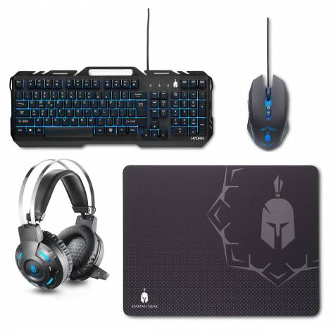 Spartan Gear Hydra Gaming Combo (Keyboard,mouse,headset,mousepad) for PC