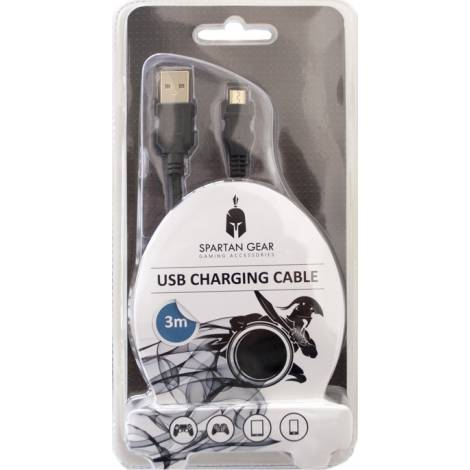 SPARTAN GEAR USB CHARGING CABLE 3m (PS4, XBOX ONE)