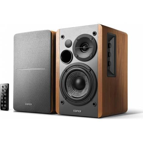 Speaker Edifier (R1280DB) Brown & ασύρματο χειριστήριο & δώρο 3M Stereo 3.5MM Plug To Jack Mf Nickle