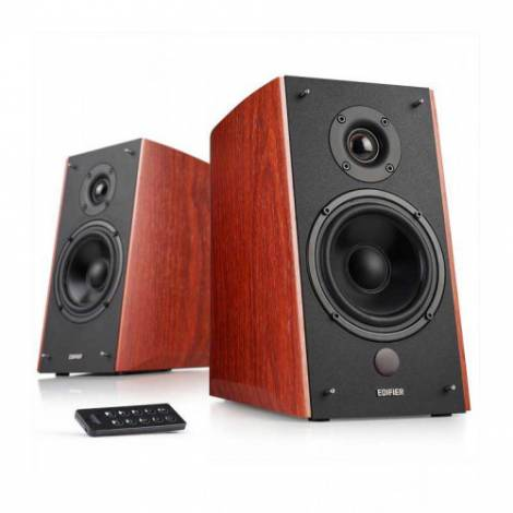 Speaker Edifier R2000DB Brown & δώρο 3M Stereo 3.5MM Plug To Jack Mf Nickle