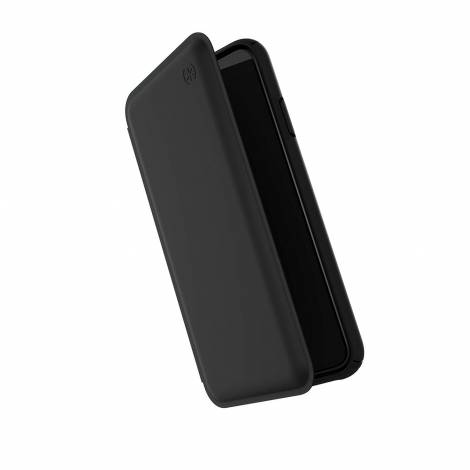 SPECK (117110-1050) IPHONE XS MAX PRESIDIO FOLIO LEATHER (BLACK/BLACK)