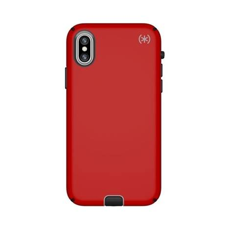 SPECK IPHONE XS/X  CASE (117133-6685) PRESIDIO SPORT ( RED)