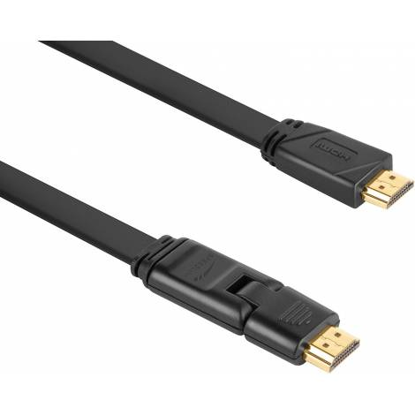 SPEEDLINK SL-1713-BK , HDMI TO HDMI FLEXIBLE HIGH SPEED CABLE, 3M