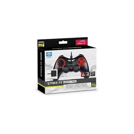 SPEEDLINK SL-4207-BK , STRIKE GAMEPAD - FOR PS2, BLACK