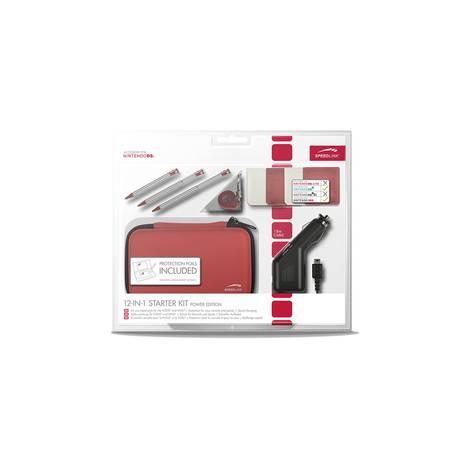 SPEEDLINK SL-5353-RD 12-IN-1 STARTER KIT - POWER EDITION FOR 3DS®, NDSI®, RED