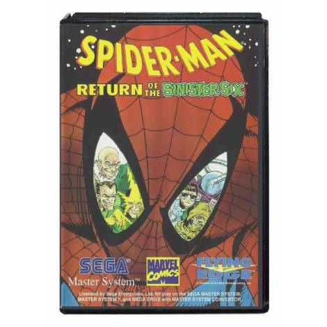 Spider-Man : Return Of The Sinister Six (SEGA MASTER SYSTEM)